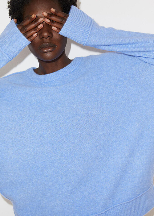 BY MALENE BIRGER BLUE PULLOVER