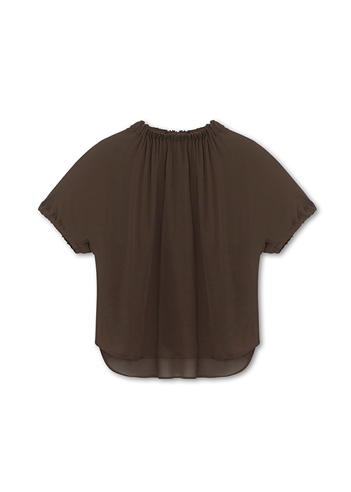 GRAUMANN BROWN BLOUSE