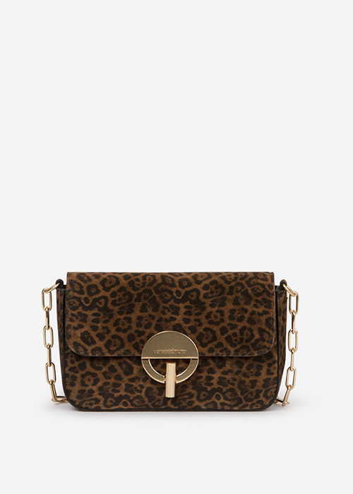 VANESSA BRUNO LEOPARD BAG