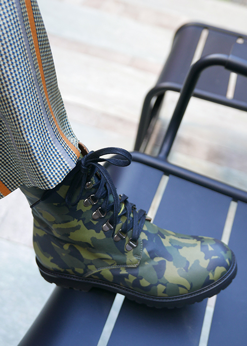 AUGUSTE CAMOUFLAGE BOOTS