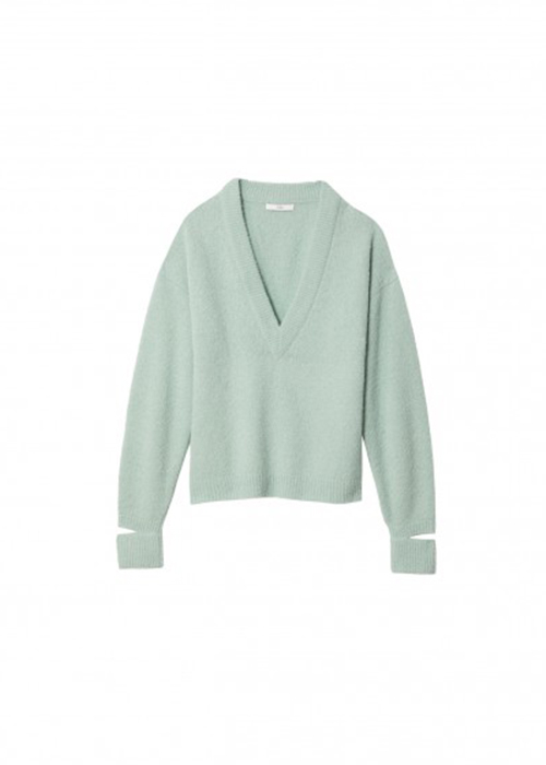TIBI MINT GREEN KNIT