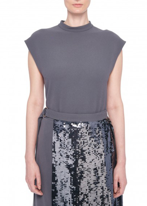 TIBI GREY TOP
