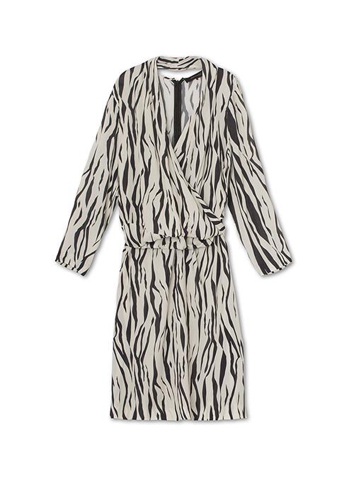 GRAUMANN ZEBRA DRESS