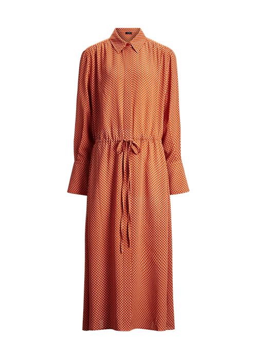 JOSEPH ORANGE DRESS