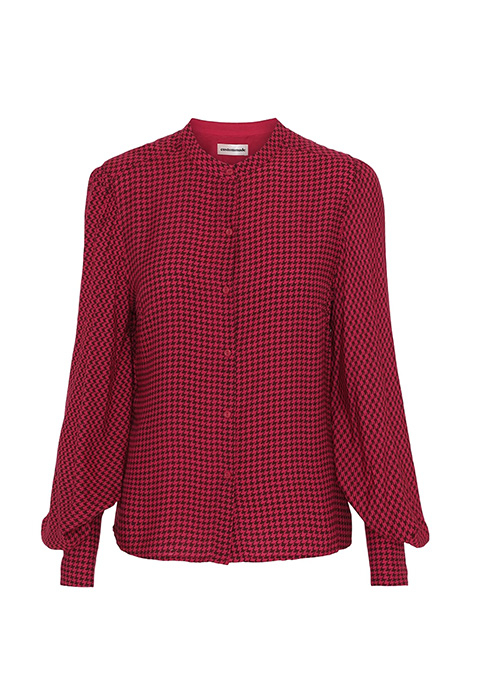 CUSTOMMADE RED BLOUSE