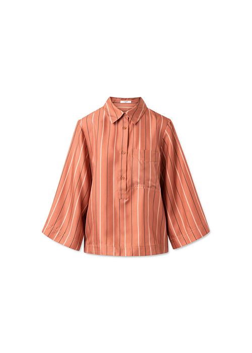 LOVECHILD RUSTY STRIPED BLOUSE