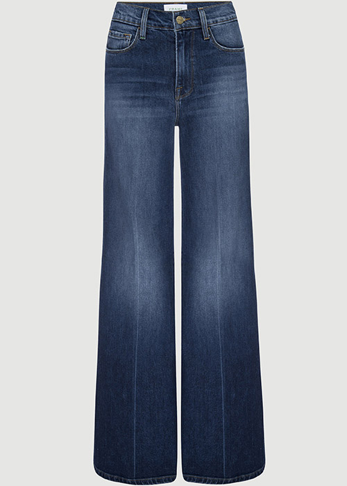 FRAME PALAZZO WIDE LEG JEANS
