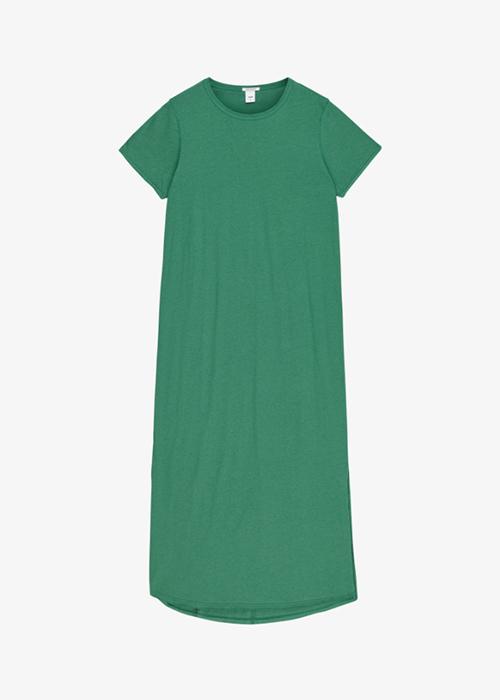 IBEN GREEN TSHIRT DRESS