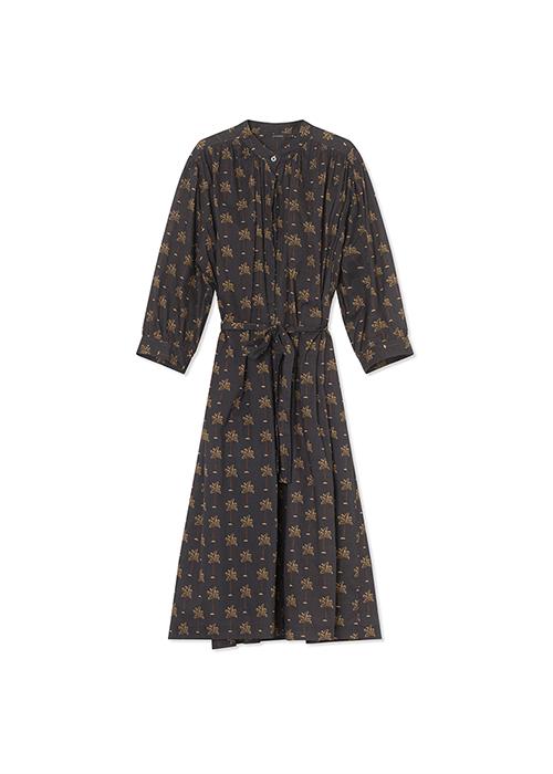 GRAUMANN PRINTED PALM DRESS