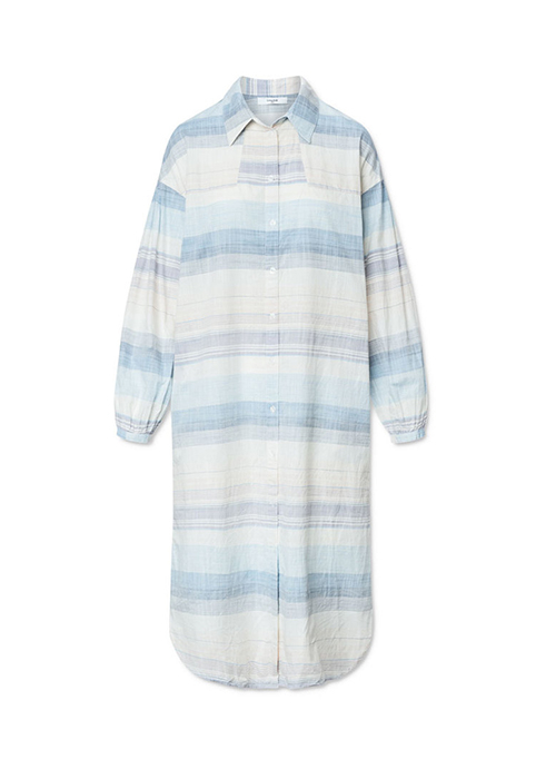 LOVECHILD BLUE SHIRTDRESS