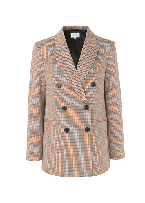 SECOND FEMALE CHECKED BLAZER