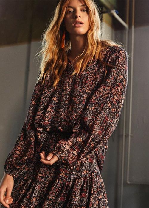 SECOND FEMALE MAXI FLOWER DRESS