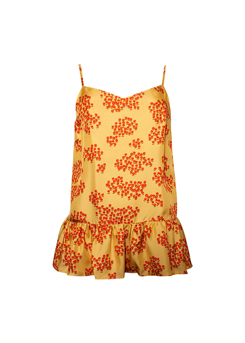 LOVECHILD YELLOW PRINTED TOP