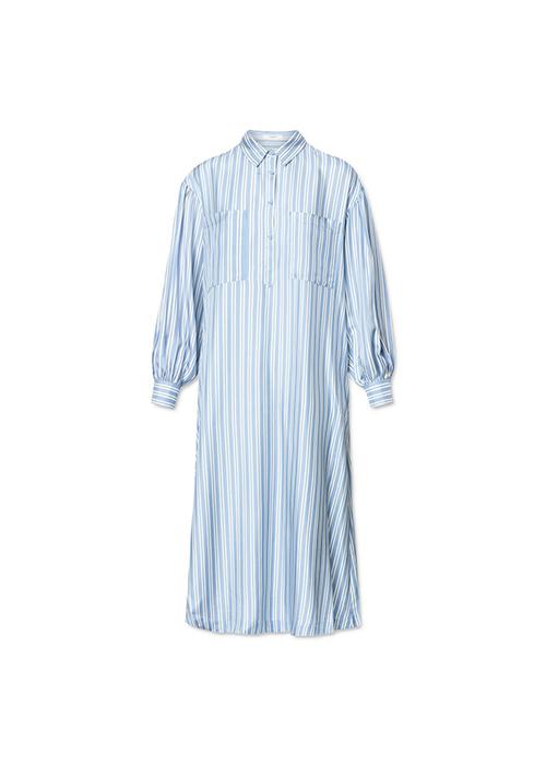 LOVECHILD BLUE STRIPED DRESS