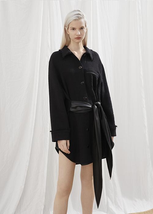 NANUSHKA BLACK DRESS