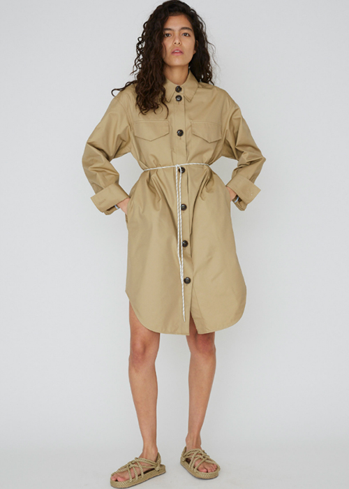 DESIGNERS REMIX SHIRTDRESS