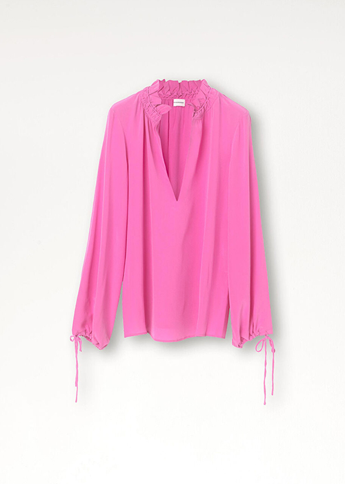 BY MALENE BIRGER PINK BLOUSE
