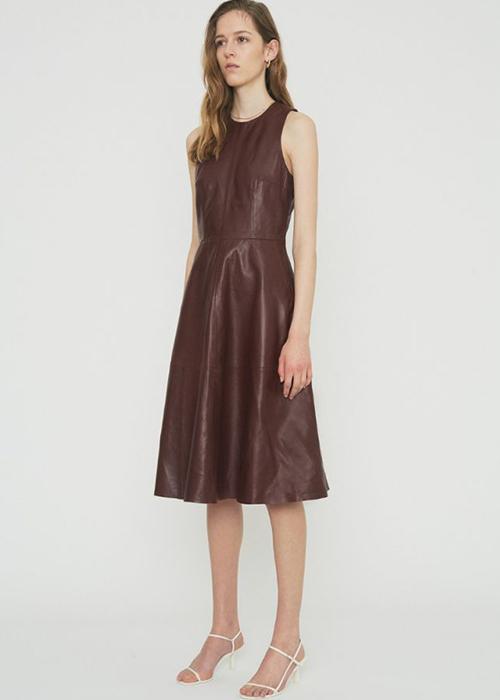 REMAIN BURGUNDY DRESS