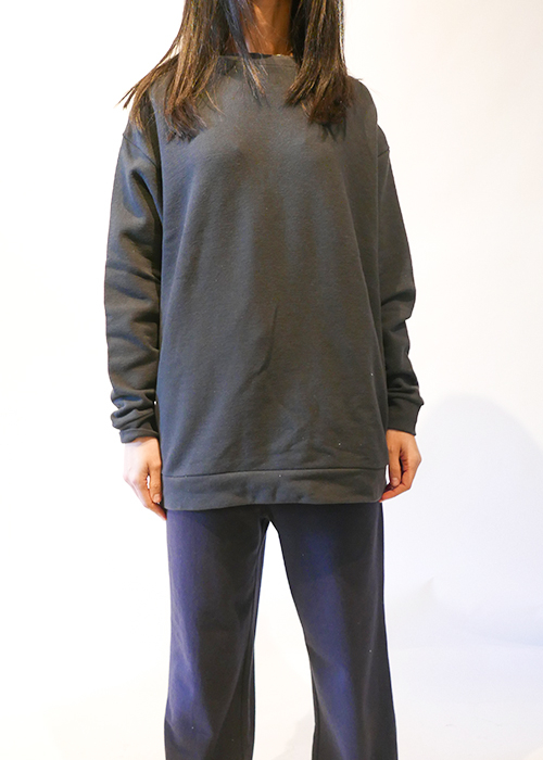 CAN PEP RAY DARK GREY SWEATER