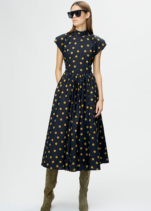 GESTUZ POLKADOT DRESS