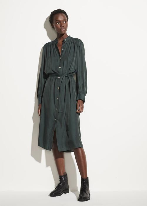 VINCE GREEN DRESS