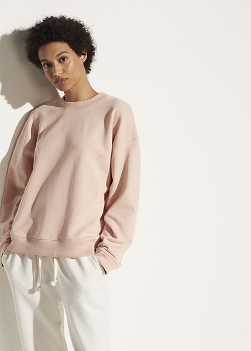 VINCE PINK SWEATER