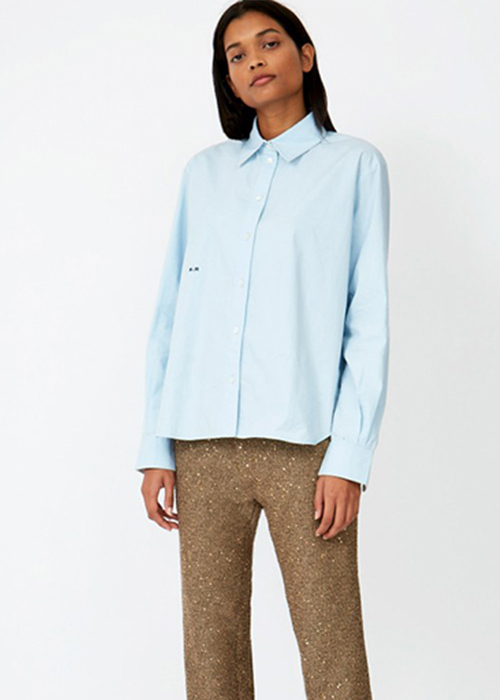 ROSEANNA BLUE SHIRT