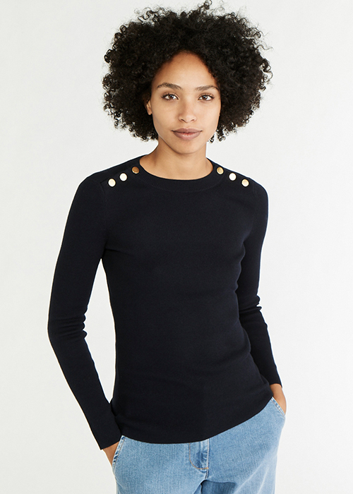 VANESSA BRUNO BLUE KNIT