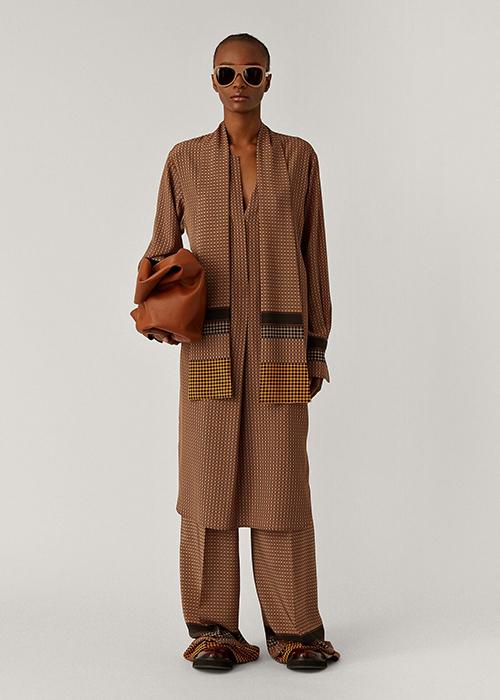 JOSPEH CAMEL PRINTED DRESS