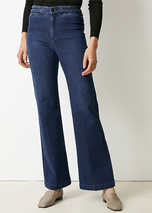 LOIS BLUE JEANS WITH BRAID