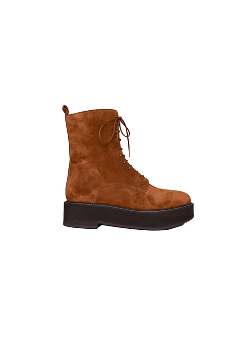 MOROBE BROWN SUEDE BOOTS