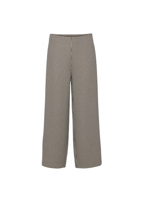 NORR WHITE/BROWN PANTS