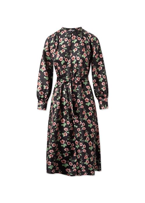 LOVECHILD BLACK FLOWER DRESS