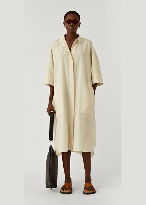 JOSEPH BEIGE DRESS