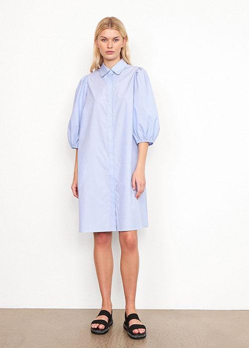 SECOND FEMALE BLUE DRESS